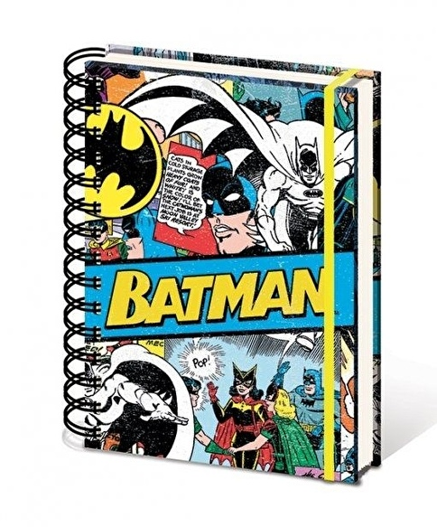 Pyramid International A5 Defter DC Comics Batman Retro Renkli